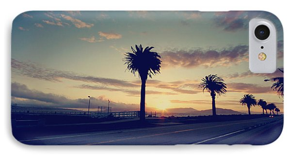 Sunset Drive Phone Case by Laurie Search