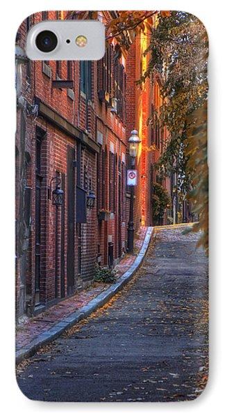 Sunset In Beacon Hill IPhone Case by Joann Vitali