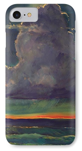 Sunset Moonglow Phone Case by Jim Noel