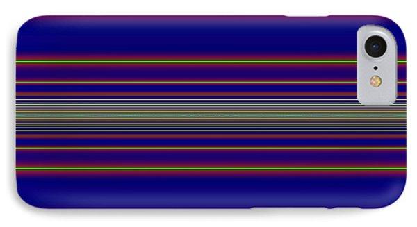 Sunset Over The Ocean Fractal Phone Case by Rose Santuci-Sofranko