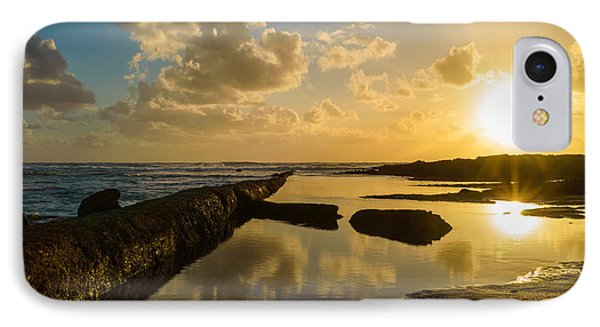 Sunset Over The Ocean II Phone Case by Marco Oliveira