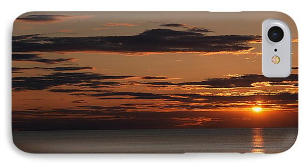 Sunset Over The Ocean, Jetties Beach IPhone Case by Panoramic Images