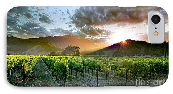 Wine Country IPhone 7 Case by Jon Neidert