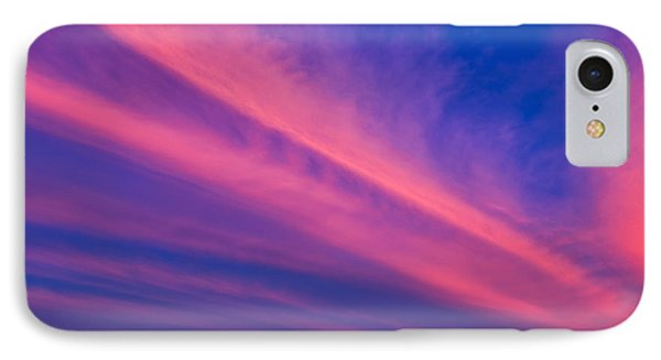Sunset Rays Phone Case by Adrian Evans