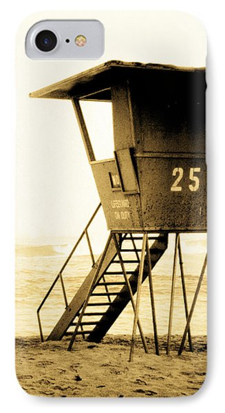 Sunset Tower 25 IPhone Case by Sean Davey