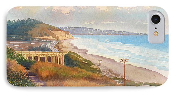 Sunset View Of Torrey Pines IPhone Case by Mary Helmreich