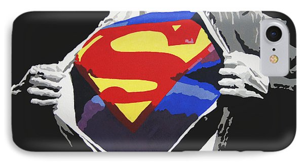 Superman Phone Case by Erik Pinto