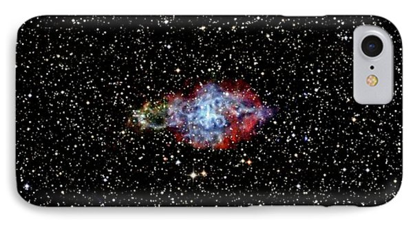 Supernova Remnant IPhone Case by Nasa/cxc/sao