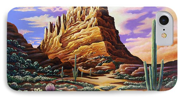 Superstition Mountains IPhone Case by Andy Russell