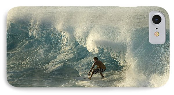 Surf Is Up Maui IPhone Case by Bob Christopher