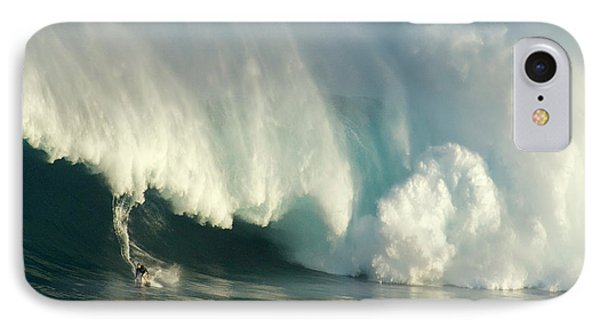 Surfing Jaws 1 IPhone Case by Bob Christopher