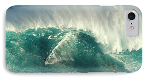 Surfing Jaws 2 IPhone Case by Bob Christopher