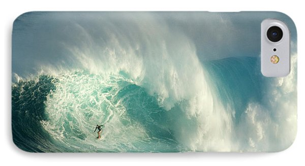 Surfing Jaws 3 Phone Case by Bob Christopher