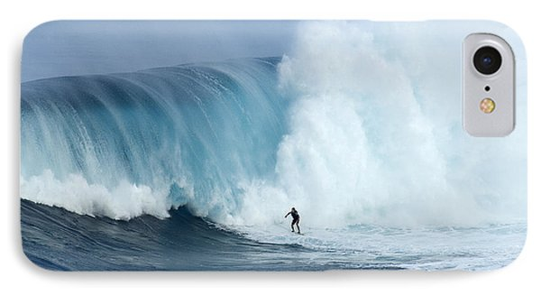 Surfing Jaws 4 IPhone Case by Bob Christopher