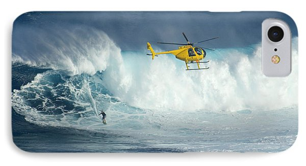 Surfing Jaws 6 IPhone Case by Bob Christopher