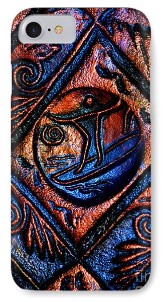 Surfing The High Seas Of Life Phone Case by Susanne Still