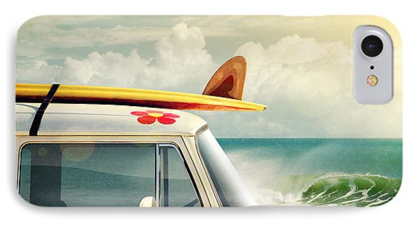 Surfing Way Of Life IPhone Case by Carlos Caetano