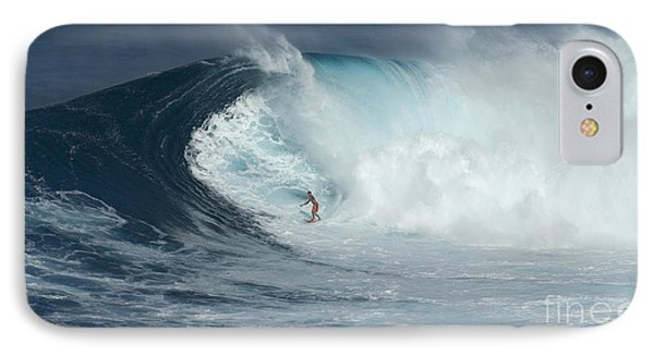 Surfing With Giants IPhone Case by Bob Christopher