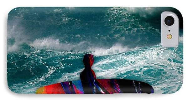Surfs Up IPhone Case by Marvin Blaine
