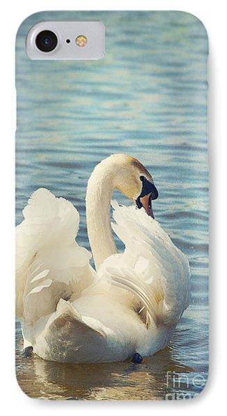 Swan Phone Case by Svetlana Sewell