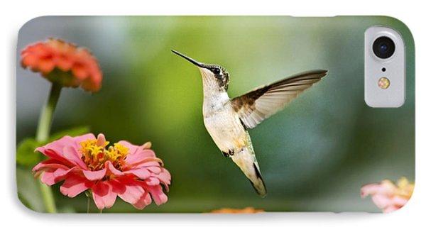 Sweet Promise Hummingbird Phone Case by Christina Rollo