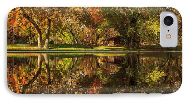Sycamore Reflections IPhone Case by James Eddy