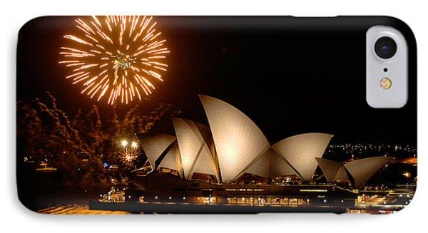 Sydney Opera Theatre IPhone Case by Bob Christopher