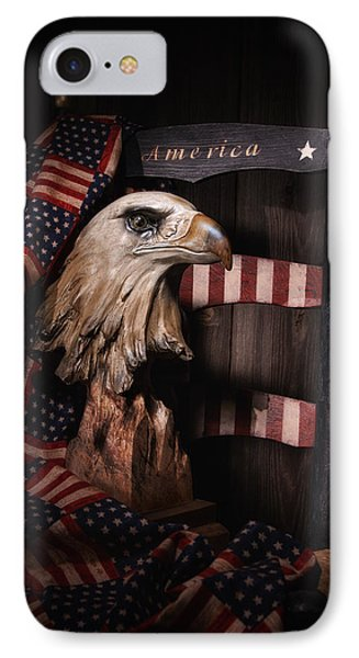 Symbol Of America Still Life IPhone Case by Tom Mc Nemar