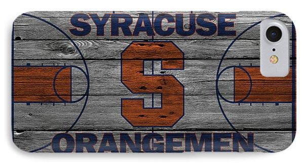 Syracuse Orangemen IPhone Case by Joe Hamilton