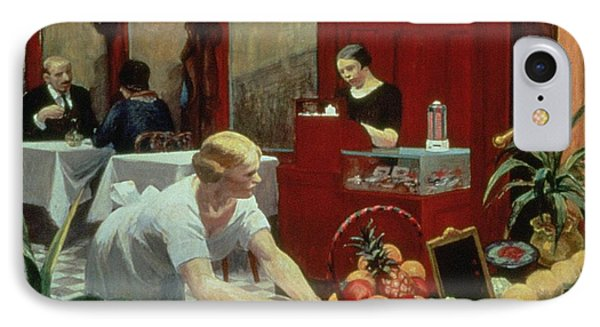 Tables For Ladies Phone Case by Edward Hopper