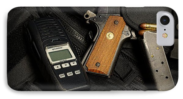 Tactical Gear - Gun  Phone Case by Paul Ward