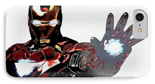 Talk To The Hand IPhone Case by The DigArtisT