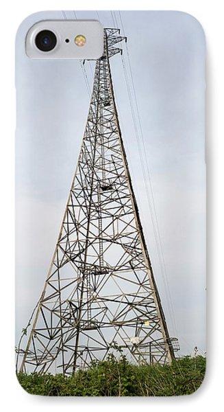 Tall Pylons IPhone Case by Robert Brook