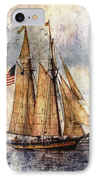 Tall Ships Art IPhone Case by Dale Kincaid