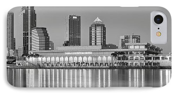 Tampa Panorama IPhone Case by Frozen in Time Fine Art Photography