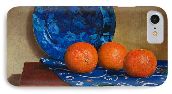 Tangerines Phone Case by Mikhail Kovalev