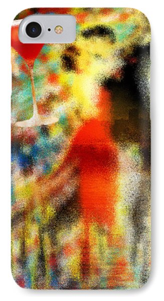 Tango As The Sunset Phone Case by Kenal Louis