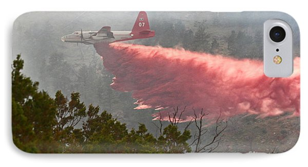 IPhone Case featuring the photograph Tanker 07 On Whoopup Fire by Bill Gabbert