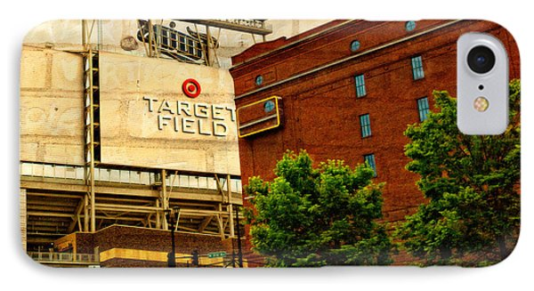 Target Field Home Of The Minnesota Twins Phone Case by Susan Stone