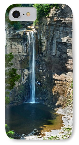 Taughannock Falls Phone Case by Christina Rollo