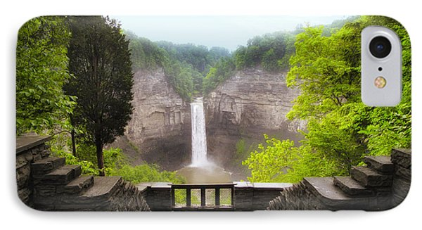 Taughannock Falls Phone Case by Jessica Jenney