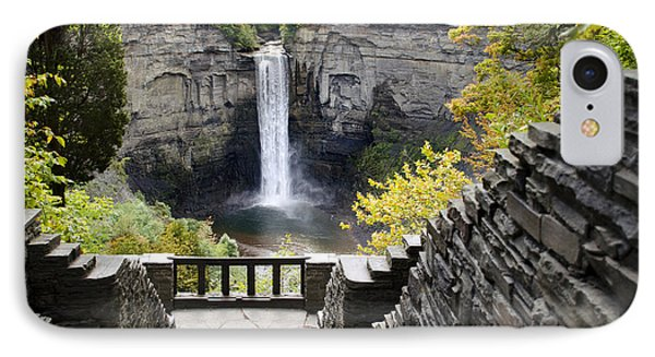 Taughannock Falls Overlook IPhone Case by Christina Rollo