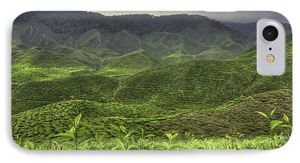Tea Farm Phone Case by Mario Legaspi