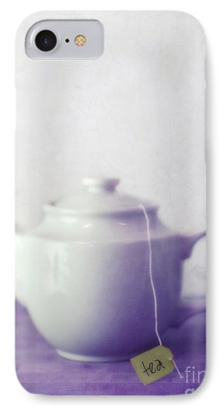 Tea Jug IPhone Case by Priska Wettstein