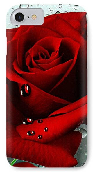 Tears From My Heart Phone Case by Morag Bates