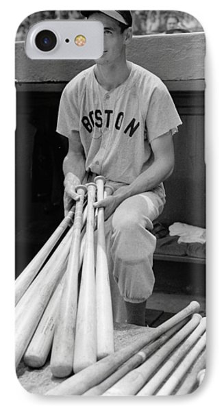Ted Williams IPhone Case by Gianfranco Weiss