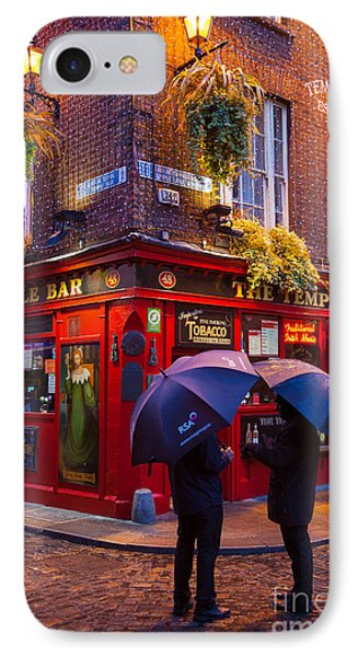 Temple Bar IPhone Case by Inge Johnsson