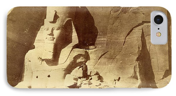 Temple Of Ramses II IPhone Case by British Library