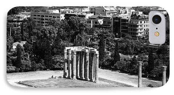 Temple Of Zeus II IPhone Case by John Rizzuto
