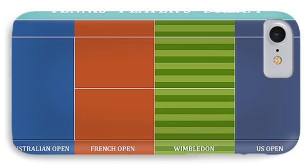 Tennis Player-s Dream IPhone Case by Carlos Vieira